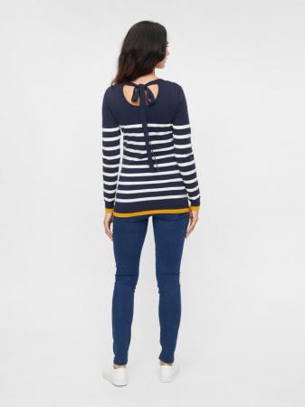 Pulover tricotat pentru gravide Mamalicious Kenna1