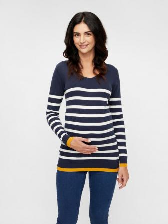 Pulover tricotat pentru gravide Mamalicious Kenna0