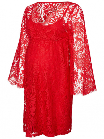 Rochie din dantela pentru gravide Mamalicious Nevia2