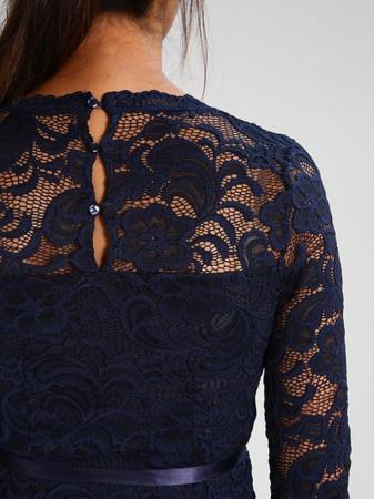 Rochie eleganta gravide Mamalicious Mivana Blue4