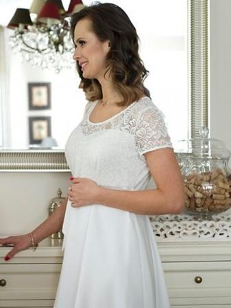 Rochie eleganta gravide Stina3