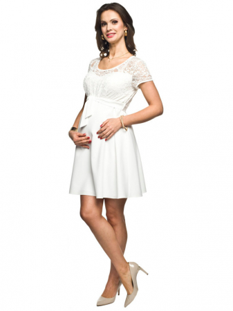 Rochie eleganta gravide Stina0