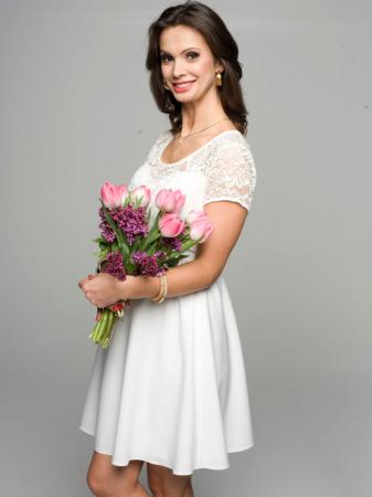 Rochie eleganta gravide Stina2