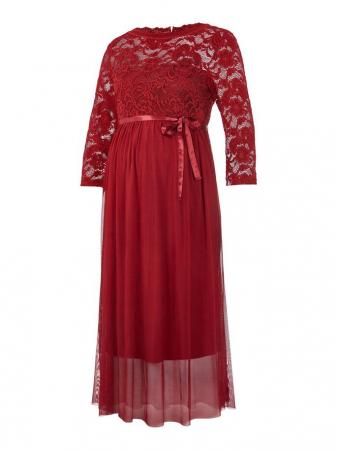 rochie-eleganta-gravide-mivana-midnight-cherry [5]