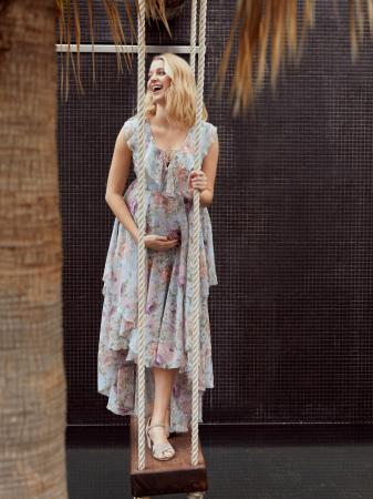 Rochie eleganta pentru gravide Mamalicious Begonia0