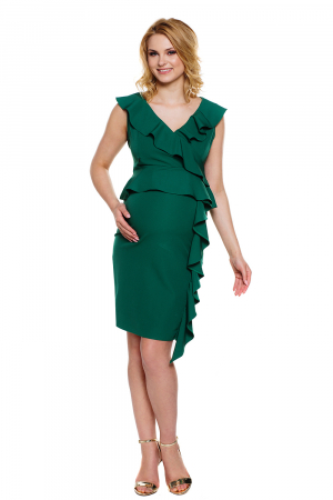 Rochie eleganta pentru gravide si alaptare Vivian1