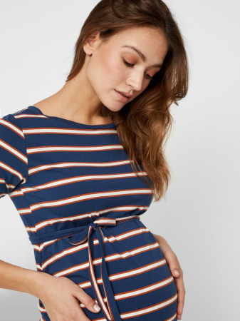 Rochie gravide, bumbac organic – Mamalicious Carmen3