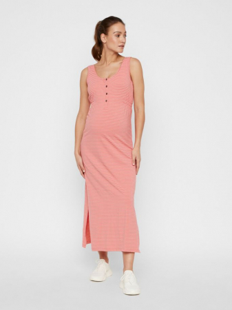 Rochie gravide si alaptare din bumbac organic Mamalicious Hanne0