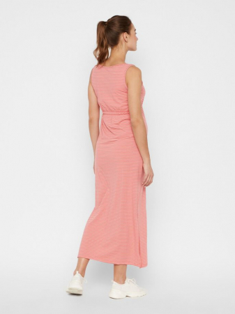 Rochie gravide si alaptare din bumbac organic Mamalicious Hanne1