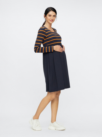 Rochie gravide din bumbac organic MADELLEINE0