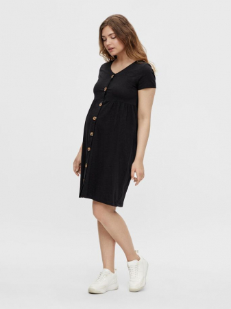 rochie-gravide-si-alaptare-bumbac-organic-mamalicious-janaya-black [1]