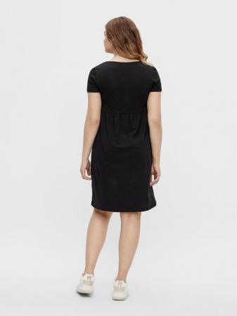 rochie-gravide-si-alaptare-bumbac-organic-mamalicious-janaya-black [2]