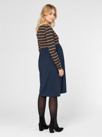 Rochie gravide din bumbac organic MADELLEINE1