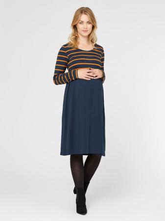 Rochie gravide din bumbac organic MADELLEINE2