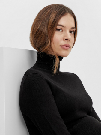 rochie-gravide-tricot-fin-mamalicious-jacina-neagra [1]