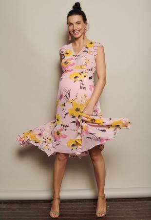 Rochie lunga eleganta pentru gravide Mamalicious Bell0