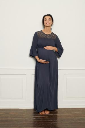 Rochie lunga pentru gravide Mamalicious Boho [0]