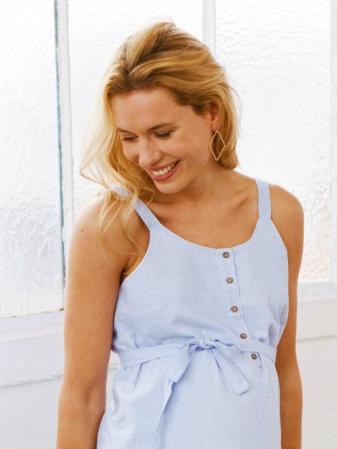 Rochie pentru gravide din bumbac Mamalicious Leila0