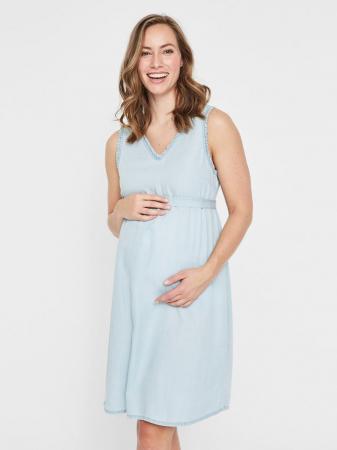 Rochie pentru gravide din lyocell Mamalicious Adora2