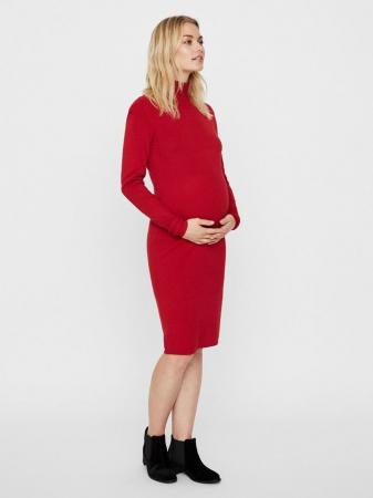 Rochie pentru gravide Mamalicious Jacina rosie