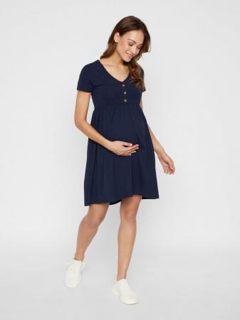 Rochie pentru gravide din bumbac organic Mamalicious Sandra0