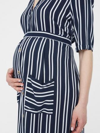 Rochie pentru gravide si alaptare Mamalicious Lina1