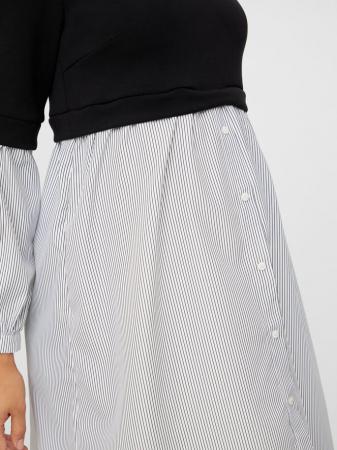 Rochie tip camasa pentru gravide – Mamalicious Jeniffer4