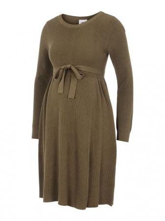 Rochie tricotata gravide, bumbac organic – Mamalicious Zoe0