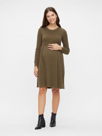 Rochie tricotata gravide, bumbac organic – Mamalicious Zoe3