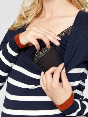 Rochie tricotata pentru gravide si alaptare KENNA3