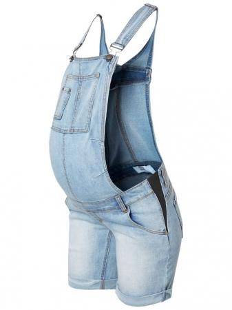 Salopeta cu pantaloni scurti pentru gravide Mamalicious Tahiti3