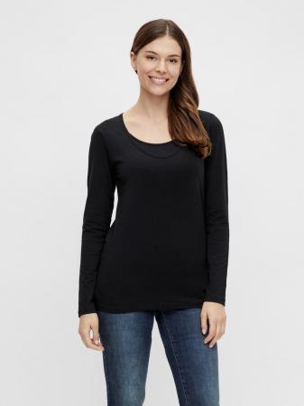 set-2-bluze-gravide-si-alaptare-mamalicious-nell-alb-negru [5]