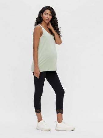Set 2 colanti gravide, lungime 3/4 - Mamalicious Eliana2