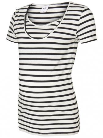 Set 2 tricouri navy pentru gravide si alaptare Mamalicious Nell4