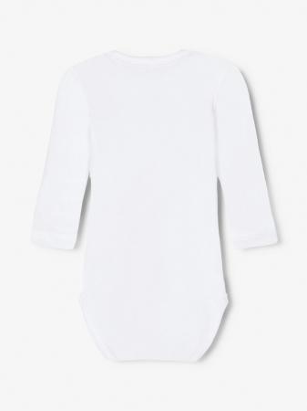 Set 3 body-uri bebelusi, bumbac organic, baieti - Lama4