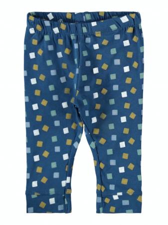 Set 3 pantaloni bebelusi, bumbac organic, baieti - Kalop1