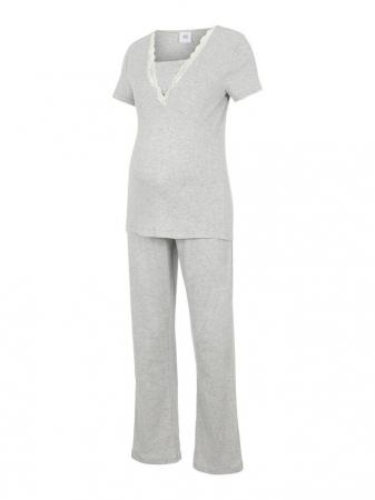 Set pijama, bluza si pantalon, bumbac organic - Mamalicious Amaja5
