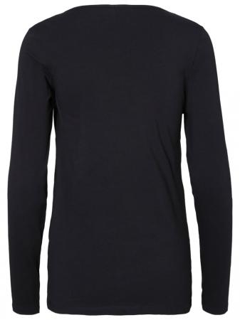 Set 2 bluze alaptare din bumbac organic Tess alb-negru6