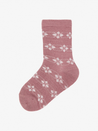 Sosete fete, din lana Merinos, set 4 perechi - Name it Wak9