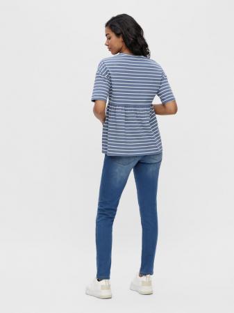 tricou-gravide-bumbac-organic-mamalicious-otea-blue [2]