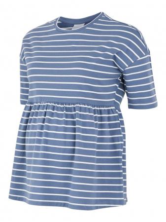 tricou-gravide-bumbac-organic-mamalicious-otea-blue [4]