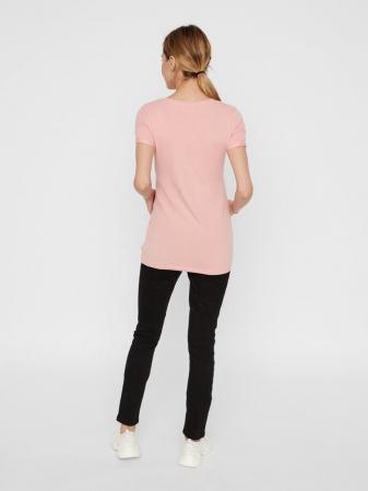Tricou pentru gravide Lucca Peaches1