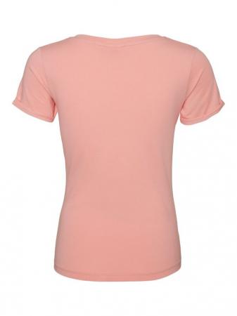 Tricou pentru gravide Lucca Peaches5