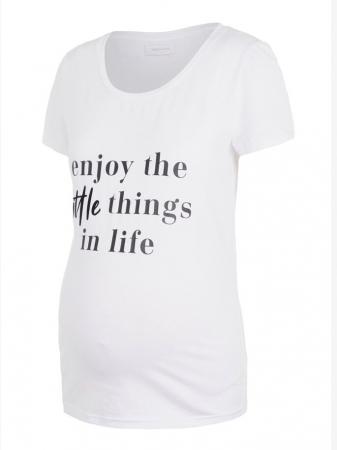 Tricou pentru gravide din bumbac organic Mamalicious Anora4