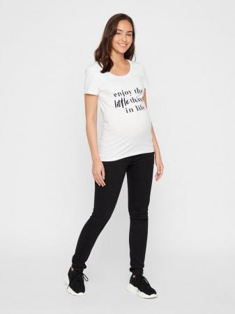 Tricou pentru gravide din bumbac organic Mamalicious Anora2