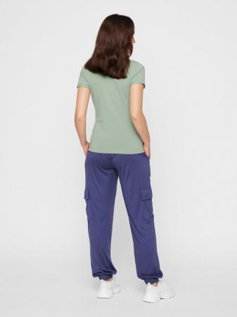 Tricou pentru gravide Lucca Green Bay1
