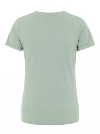 Tricou pentru gravide Lucca Green Bay5