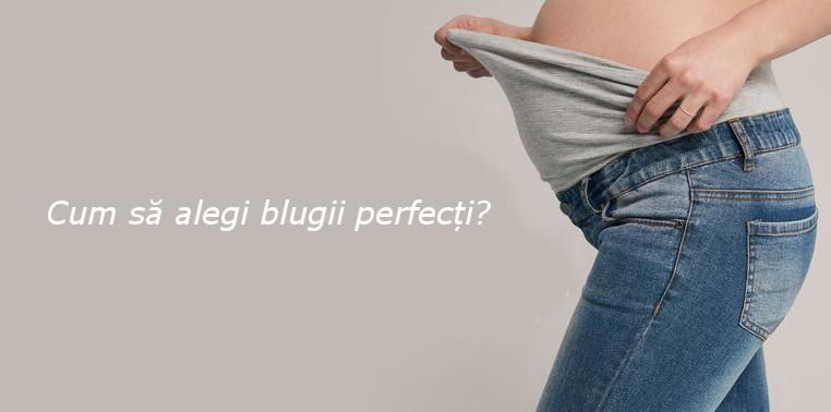 cum sa alegi blugii penru gravide