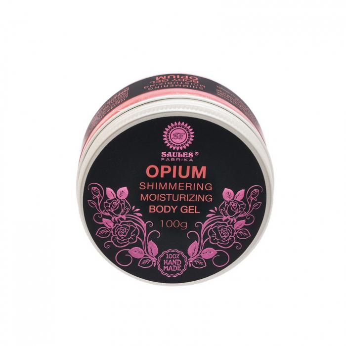 Gel de corp Opium hidratant cu efect de sclipire 100% Handmade 0
