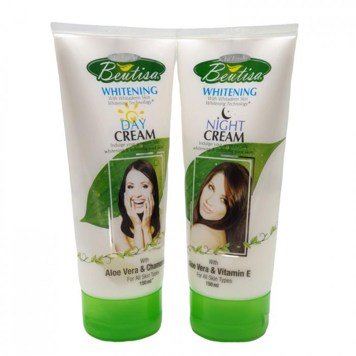 Crema de noapte whitening cu Aloe Vera si Musetel 2